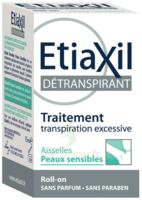Etiaxil Aisselles Détranspirant Peau Sensibles Roll-on/15ml à NIMES