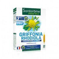 Santarome Bio Griffonia Rhodiola Solution Buvable 20 Ampoules/10ml à NIMES