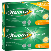 Berocca Energie Comprimés Effervescents Orange B/60 à NIMES