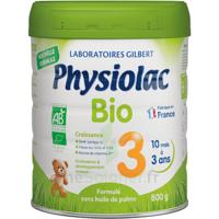 Physiolac Bio Lait 3éme Age 800g à NIMES