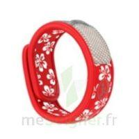 Bracelet Graffic J&t Hawai Rouge à NIMES