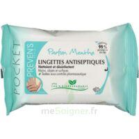 Preven's Lingette Antiseptique Menthe à NIMES