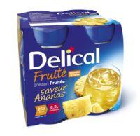 Delical Boisson Fruitee Nutriment Ananas 4bouteilles/200ml à NIMES