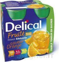 Delical Boisson Fruitee Nutriment édulcoré Orange 4bouteilles/200ml à NIMES