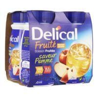 Delical Boisson Fruitee Nutriment Pomme 4bouteilles/200ml à NIMES