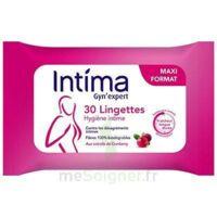 Intima Gyn'expert Lingettes Cranberry Paquet/30 à NIMES