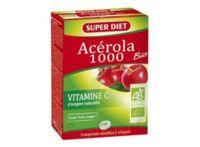 Superdiet Acérola 1000 Bio Comprimés à Croquer B/24 à NIMES