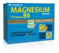 Arkovital Magnésium Vitamine B6 Gélules B/120 à NIMES