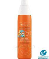 Avène Eau Thermale Solaire Spray Enfant 50+ 200ml à NIMES