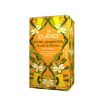 Pukka Bio Citron, Gingembre Et Miel De Manuka Tisane Immunité Citron Gingembre Miel De Manuka 20 Sachets à NIMES