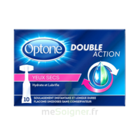 Optone Monodose Double Action Solution Oculaire Yeux Secs B/10 à NIMES